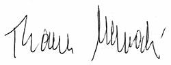 Unterschrift Thomas Nawrocki